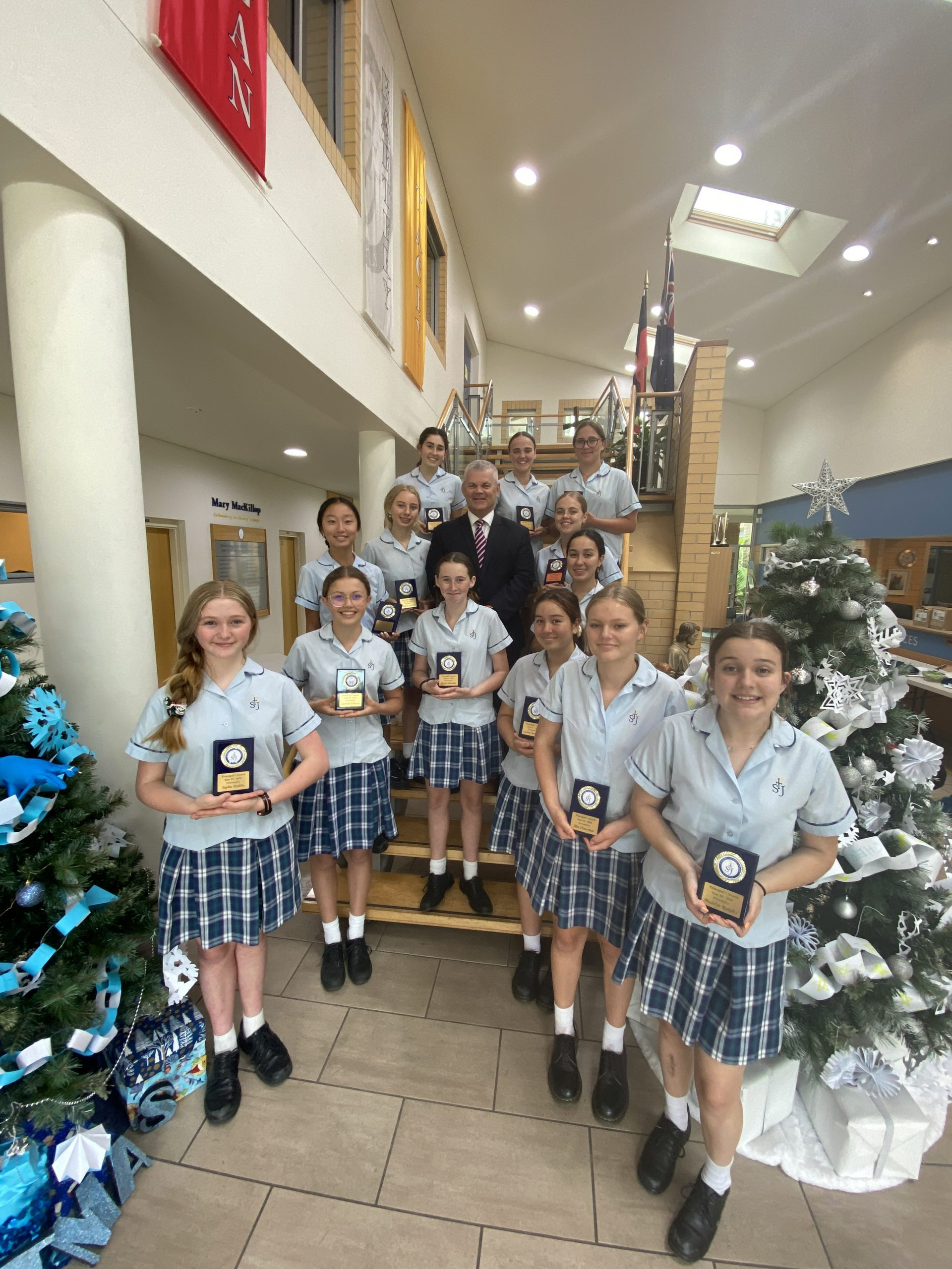 Year 10 2020 Presentation Awards gallery