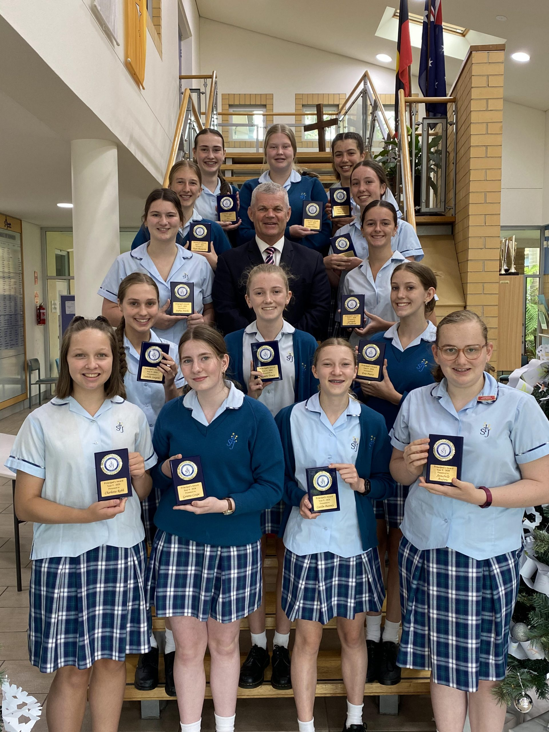 Year 9 2020 Presentation Awards gallery